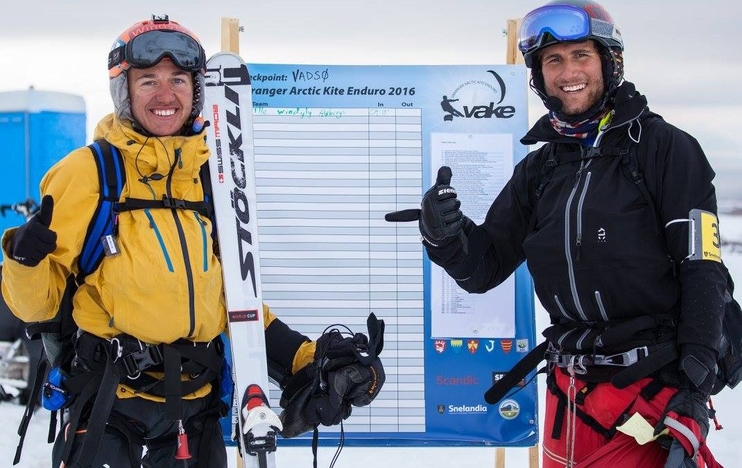 Florian Gruber and Jonas Lengwiler winning VAKE 2016