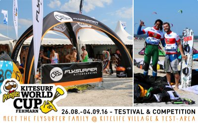 Come to the Kitesurf World Cup 2016 on Fehmarn (GER)!