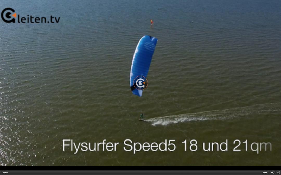 SPEED5 18.0 & 21.0 King of light wind – Test Gleiten.tv