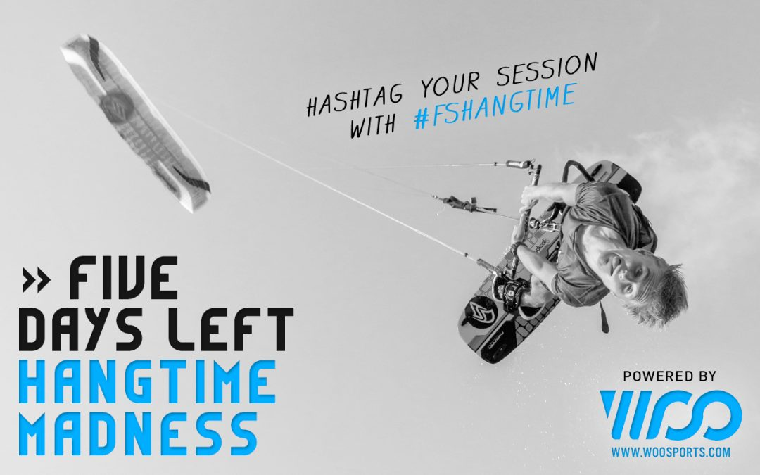WOO Hangtime Madness Contest: Only 5 days left to win € 1.000,-!