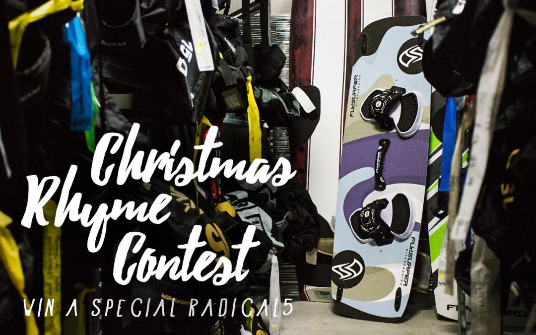 RADICAL5 Christmas Rhyme Contest