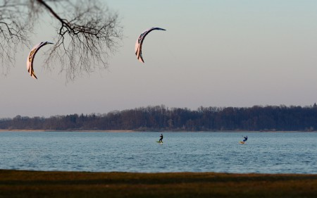 SPEED4 LOTUS Lake Two Kites Hydrofoil