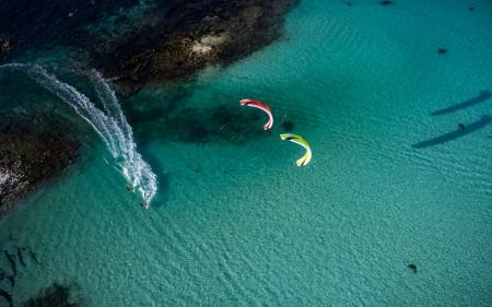 SPEED5 Water Two Kites