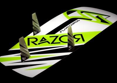 RAZOR Lightwind Race