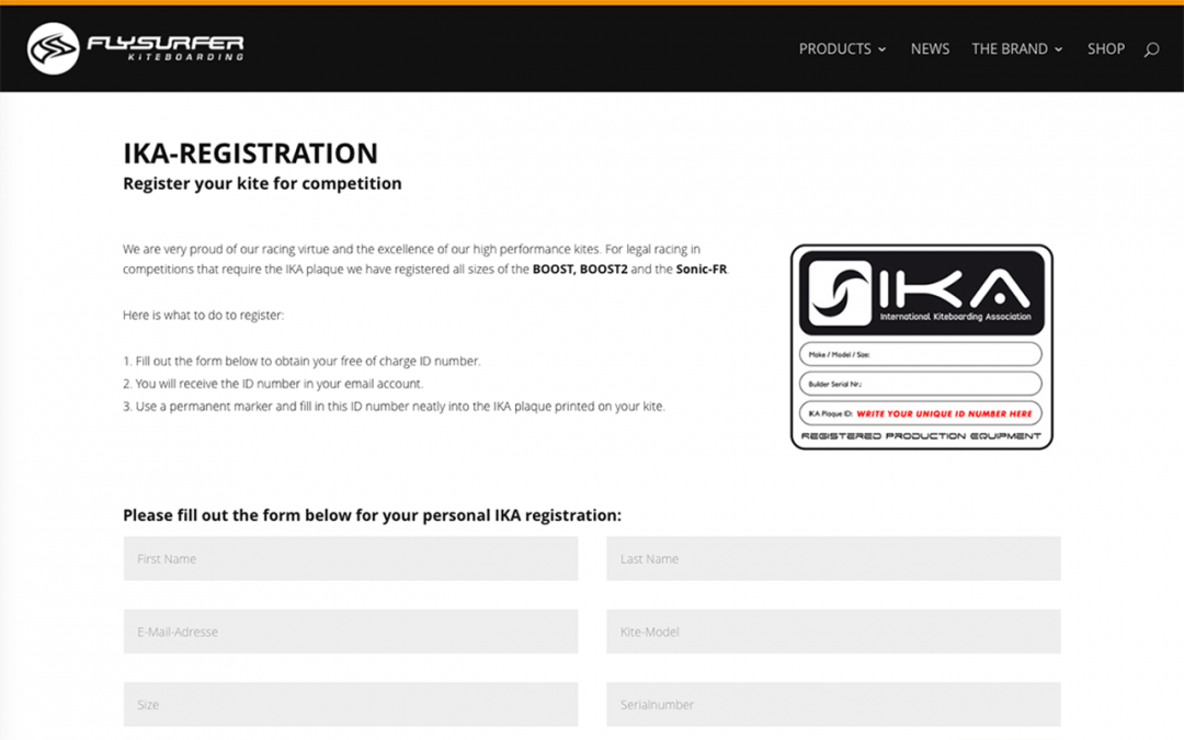 IKA registration – why is the unique plaque ID number so important?