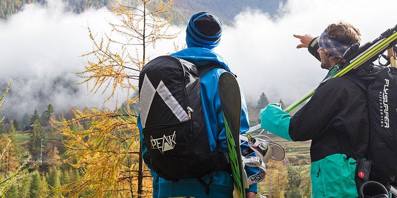 Touring-Bag mit integriertem Trapez