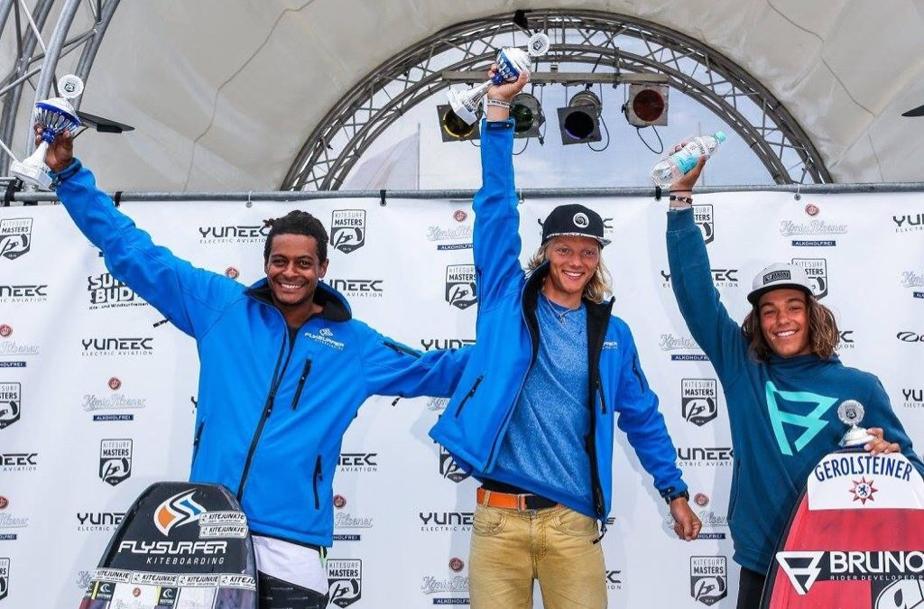 Superfinale der Kitesurf Masters auf Norderney
