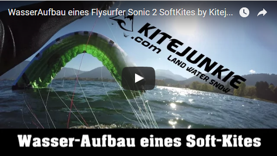 """Starting a """"Closed-Cell Foilkite"""" in deep water"""
