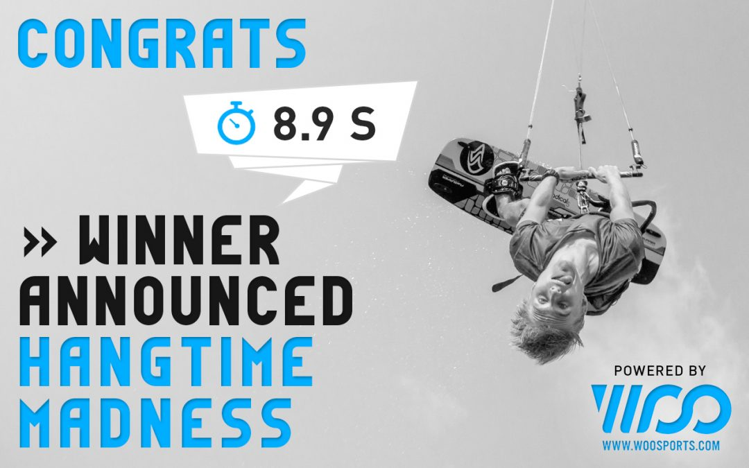 WOO Hangtime Madness Contest – the winner is …