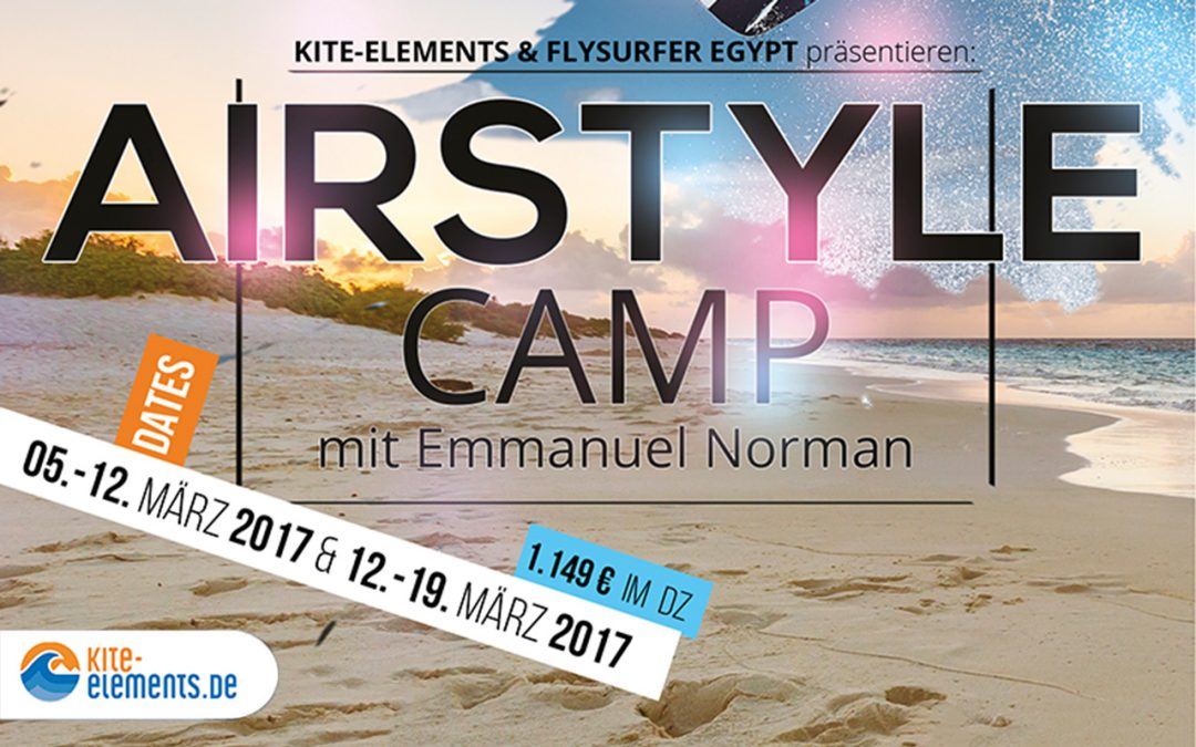 Airstyle Camp mit Teamrider Emmanuel Norman