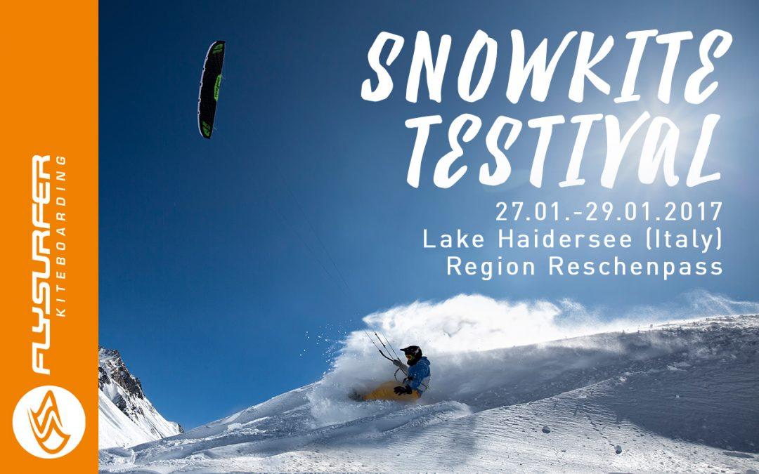 FLYSURFER Snowkite Testival coming up!