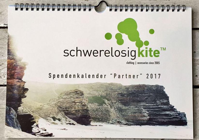 Spendenkalender 2017 von Schwerelosigkite