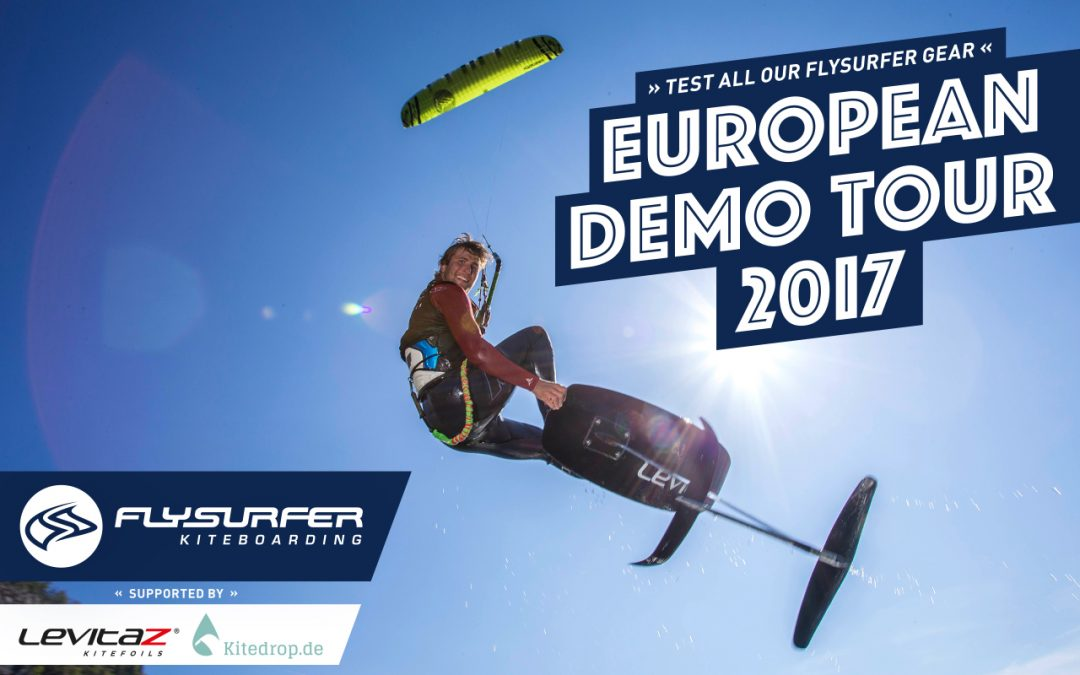 Travel report of our FLYSURFER Demo Tour 2017