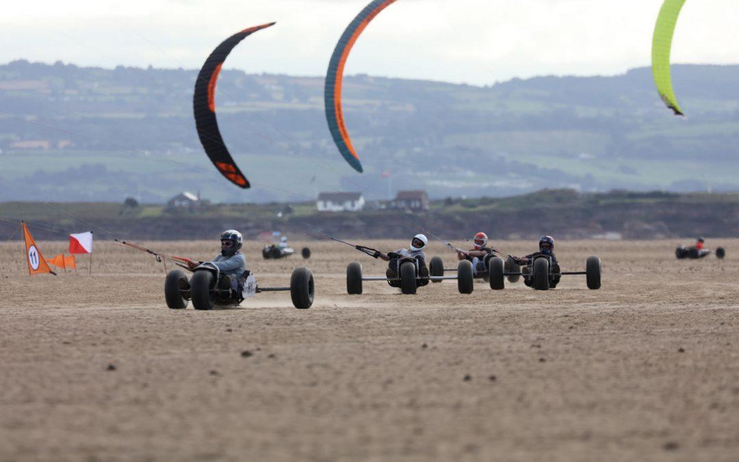 David van Boven gewinnt Kite Buggy European Championship