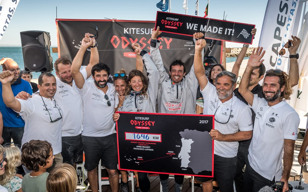 A new world record – Brandt and Lufinha reach Portugal