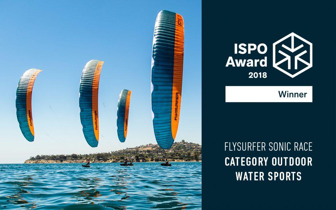 SONIC RACE gewinnt ISPO Award 2018