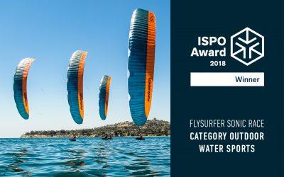 SONIC RACE wins ISPO Award 2018