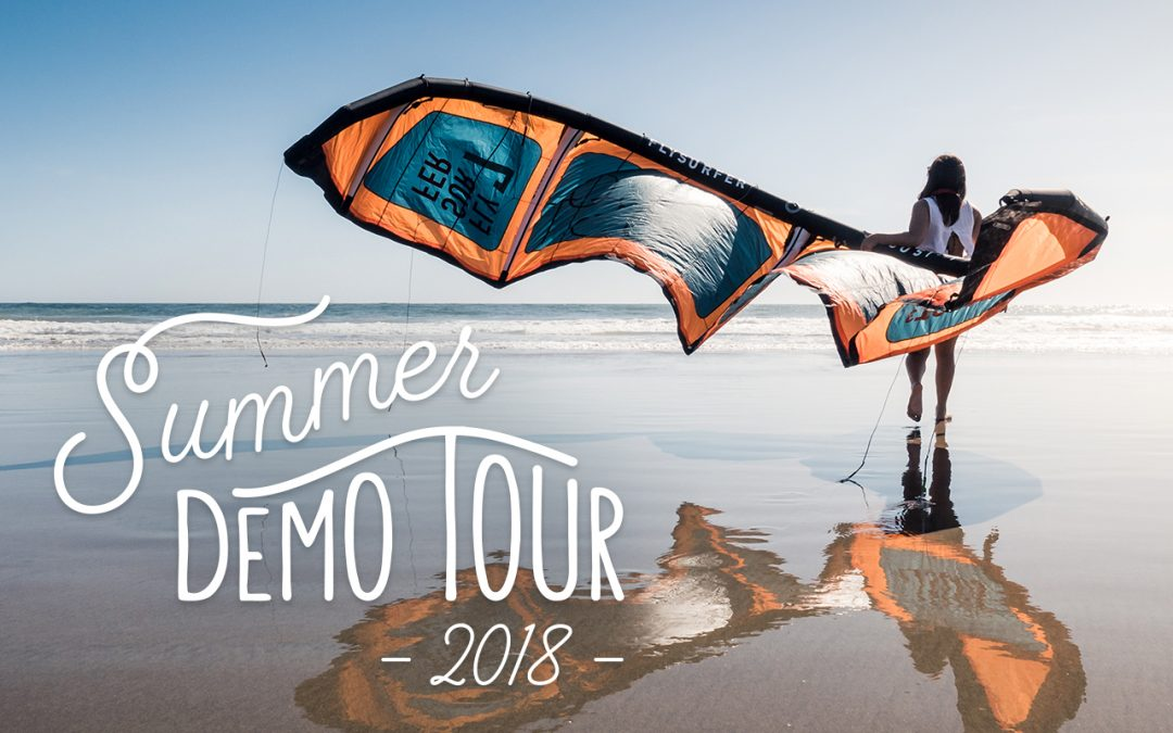 FLYSURFER Summer Demo Tour 2018