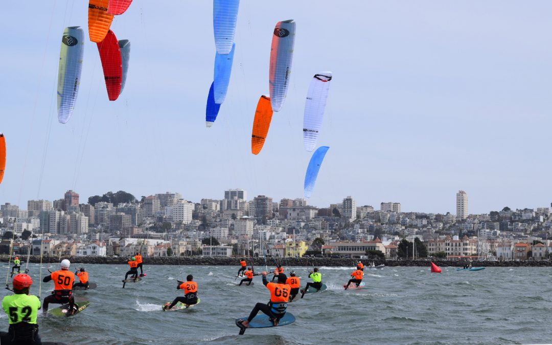 Epic racing in San Francisco