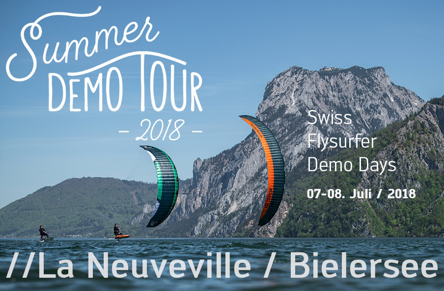 Flysurfer Demo Days in La Neuveville / Bielersee