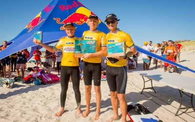 Olly Bridge wins his third Red Bull Lighthouse to Leighton race